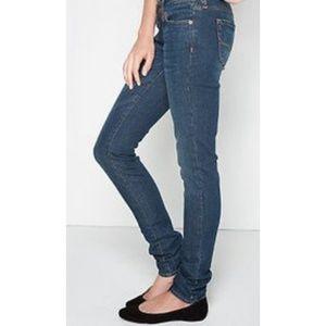 Bullhead Hermosa Super Skinny Dark Wash Jeans